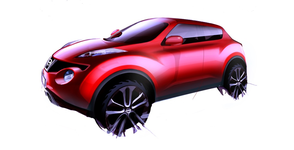 Dessin : Nissan Juke