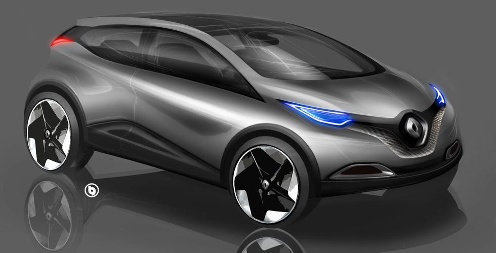 Dessin : Renault Captur