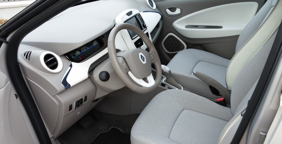 Renault zoe interieur for Interieur zoe