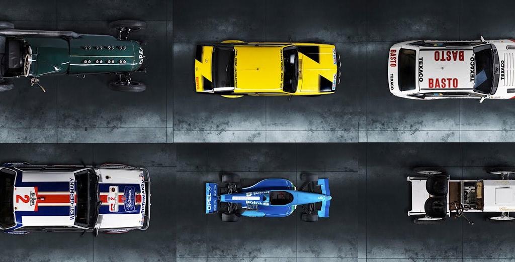Up and Down : des Opel de dessus et de dessous