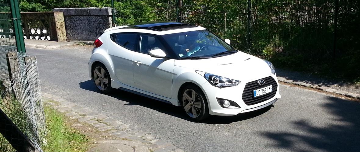 Essai Hyundai Veloster Turbo : attirante