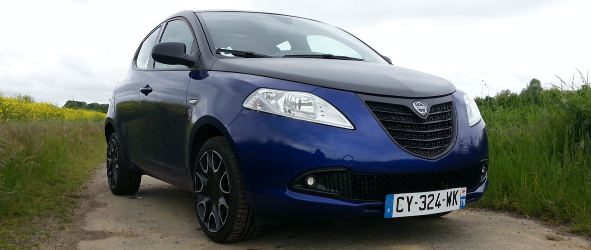 Essai Lancia Ypsilon S by Stade Français : I will survive
