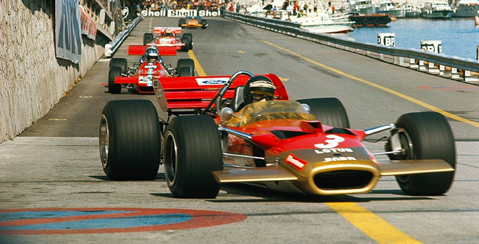 Photos : Grand Prix de Monaco F1 de 1970 à 1979