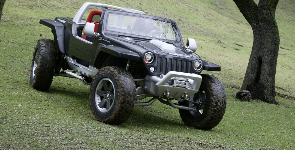 Concept Car : Jeep Hurricane