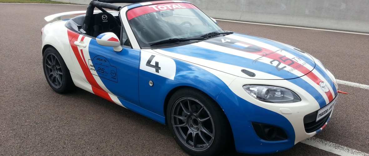 Essai Mazda MX-5 Open Race : Sunday Cup