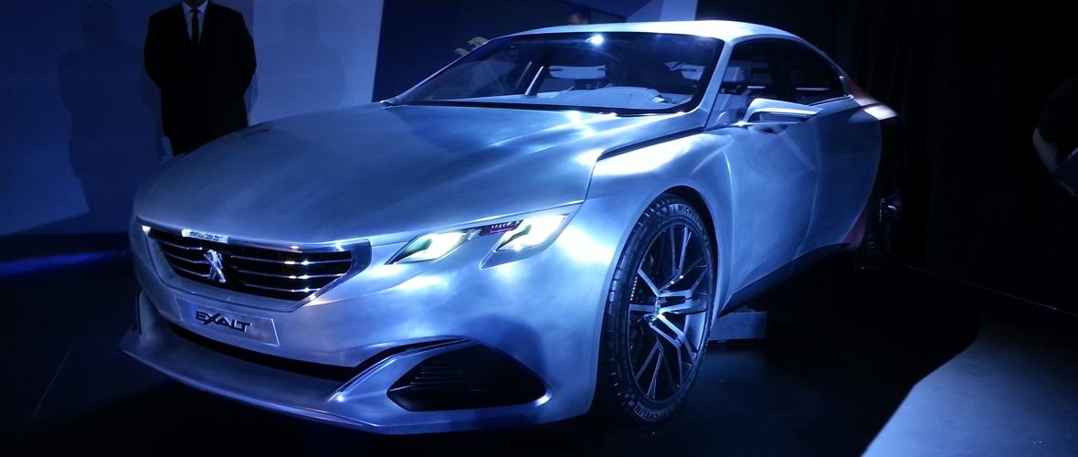 Rencontre : Peugeot Exalt