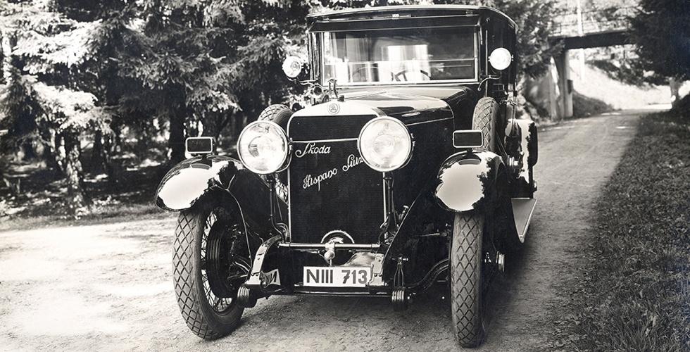L'Hispano-Suiza de Skoda