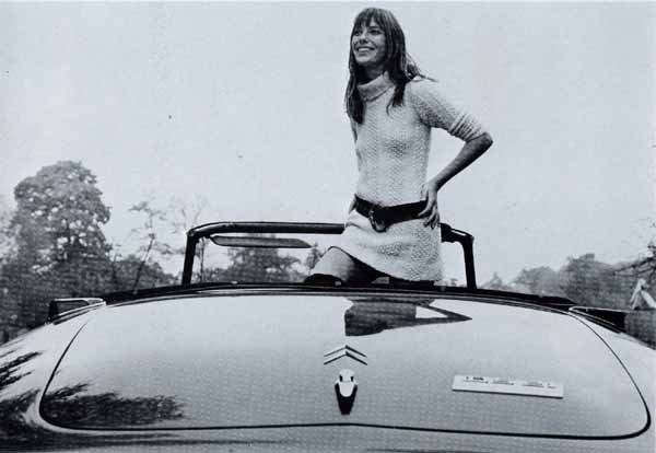 Citroen cabrio DS21 Jane Birkin-1