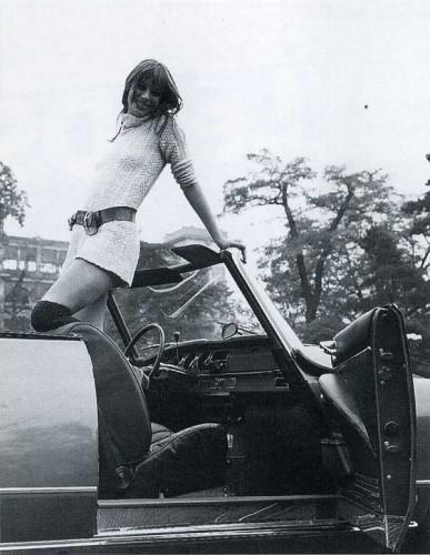 Citroen cabrio DS21 Jane Birkin-3