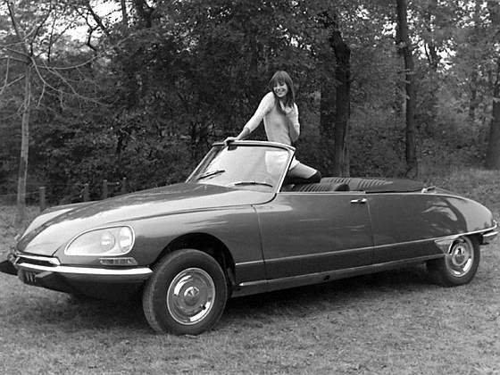 Citroen cabrio DS21 Jane Birkin-6