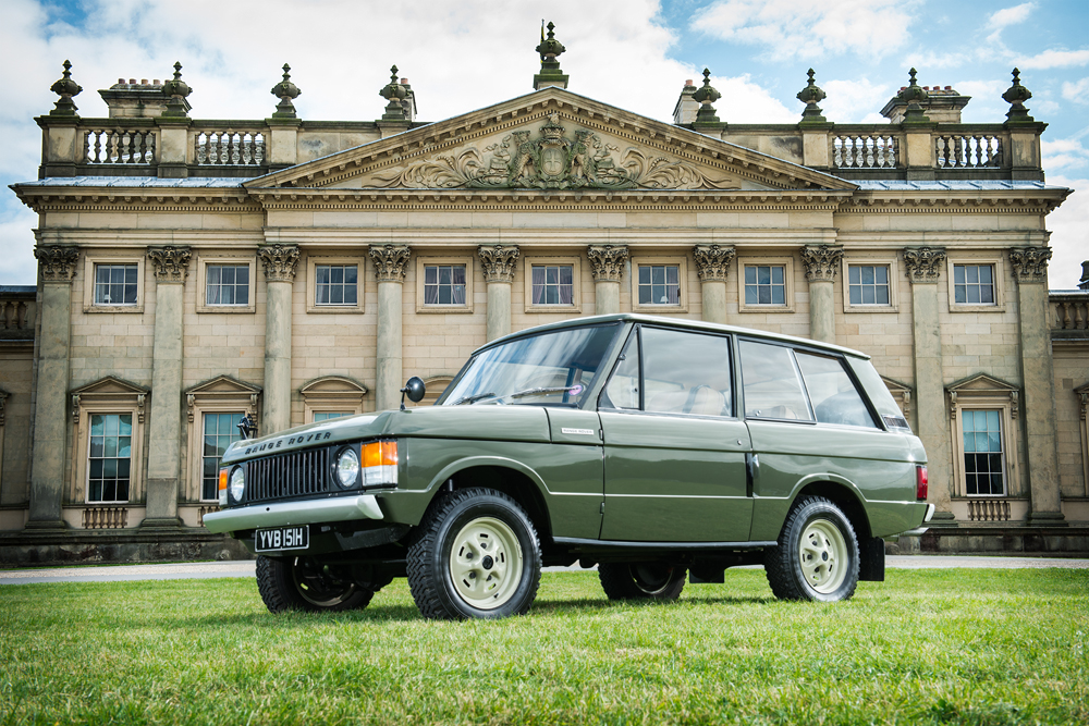 Le premier Range Rover revient sur le marché
