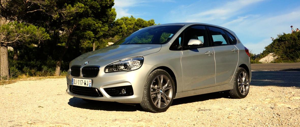 Essai BMW Série 2 Active Tourer : monospace premium