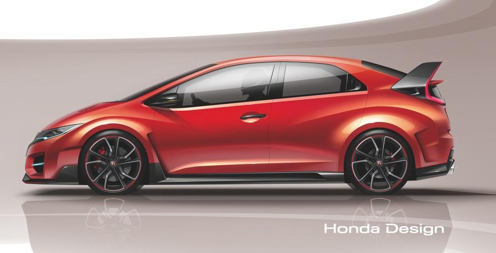 Dessin : Honda Civic Type R Concept
