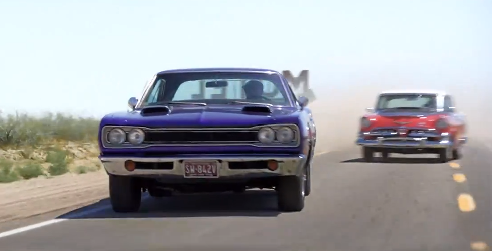 Pub : Dodge remonte l'histoire à vitesse grand V