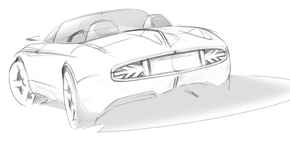 Design : MINI Superleggera Vision