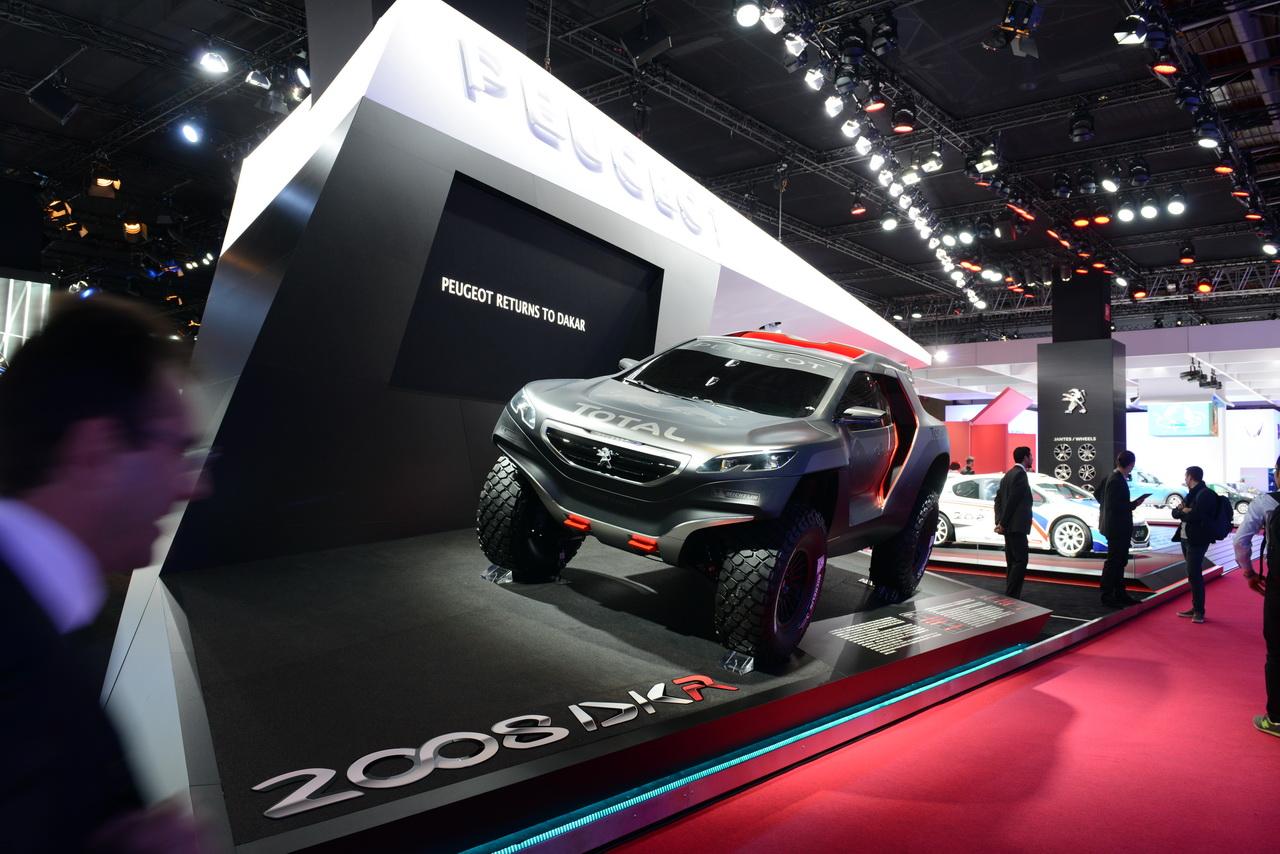 Paris 2014 en direct : Peugeot montre Quartz et Exalt. #MondialAuto