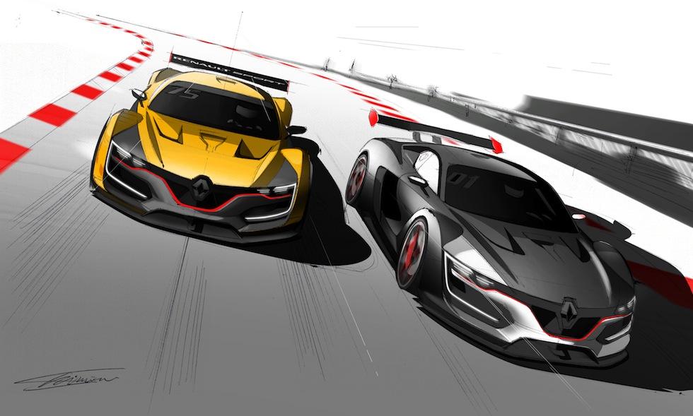 Design : Renault Sport R.S. 01