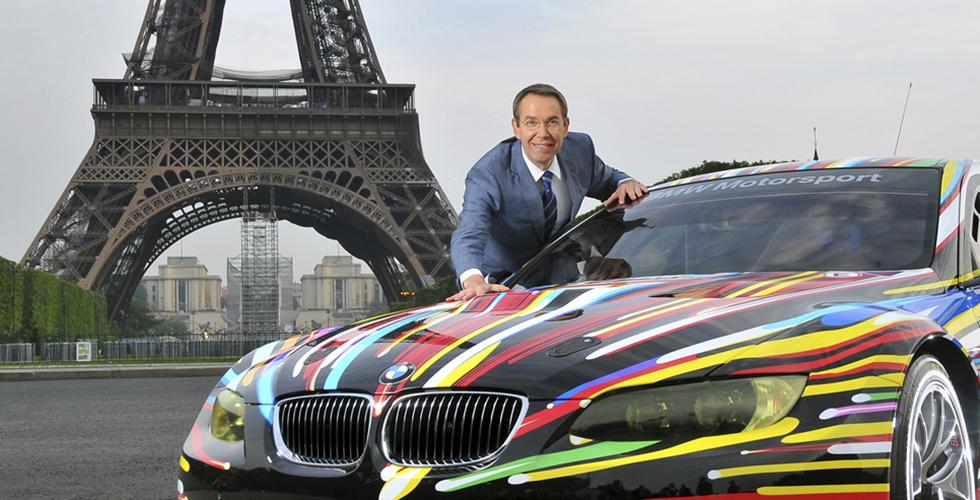 Jeff Koons, l'homme de la dernière BMW Art Car