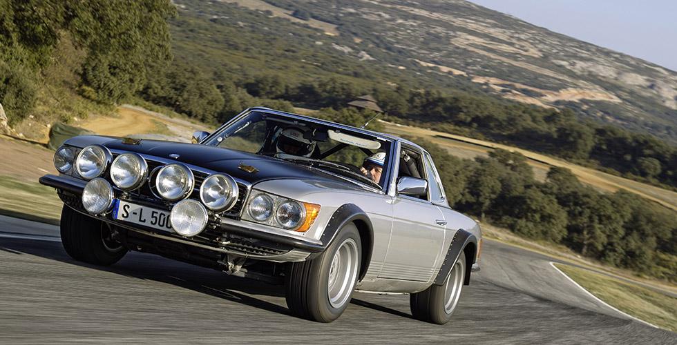 La dernière des Mercedes-Benz 500 SL…