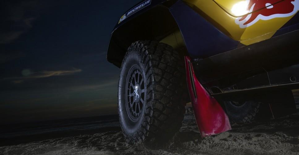 The Peugeot 2008 DKR - Detail