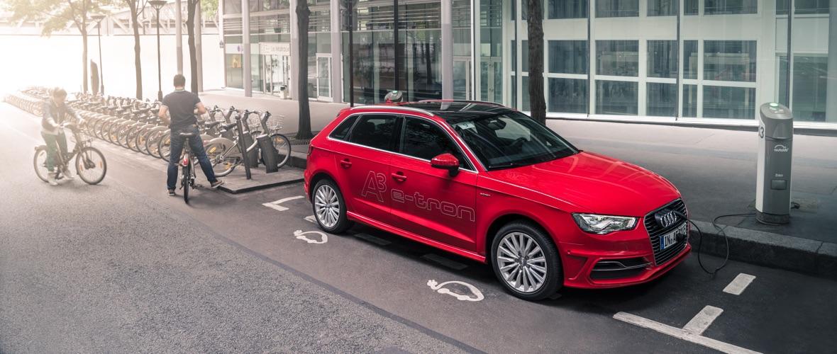 Contact : Audi A3 Sportback e-tron