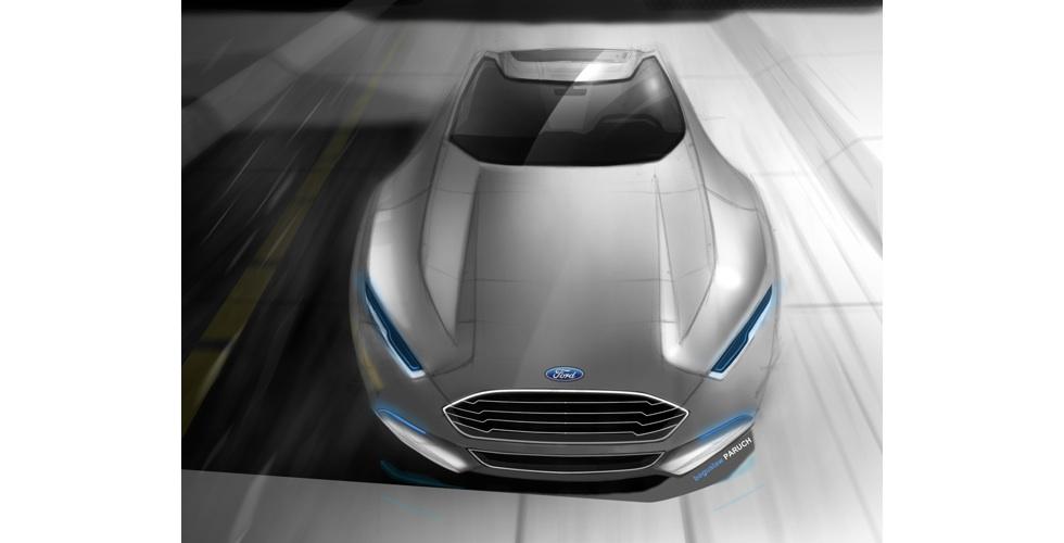 Dessin : Ford Mondeo