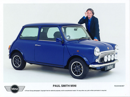 MINI Paul Smith, 1800 exemplaires, commercialisés au Royaume-Uni et Japon.