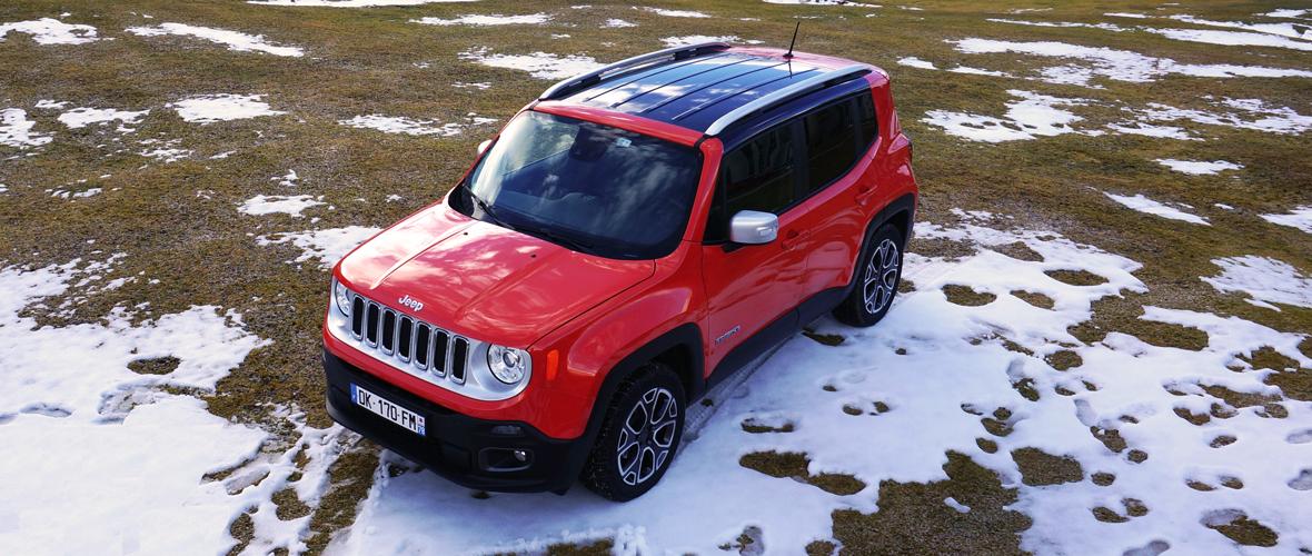 Essai Jeep Renegade : Massive Attack
