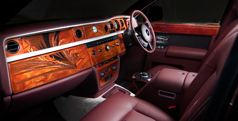 D monstration de personnalisation par rolls royce for Interieur rolls royce