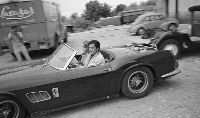 Alain Delon, Ferrari 250 GT SWB California Spider_4