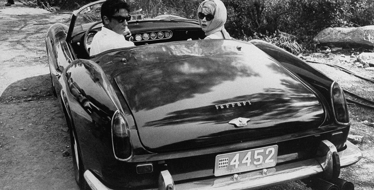 _CULT – la Ferrari 250 GT SWB California Spider de Alain Delon