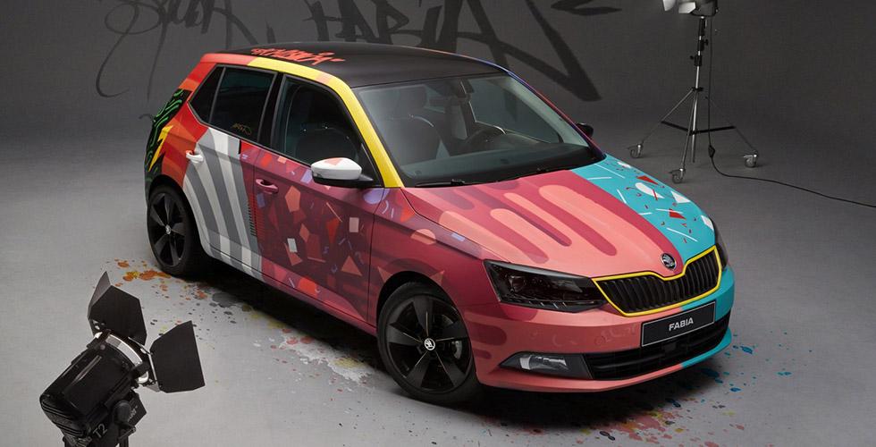 Skoda Fabia Armando Gomes : la première Art Car tchèque