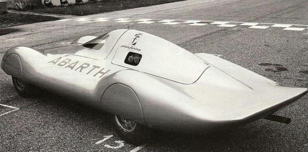 aerofriday - 1960 #Abarth Monoposto da Record 1.0 screamer set a few records at Monza