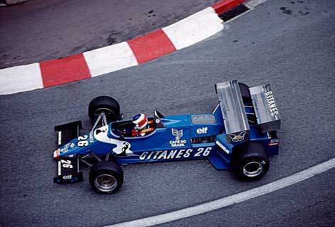 aerofriday - Raul Boesel in the Ligier JS21 Monaco 1983.