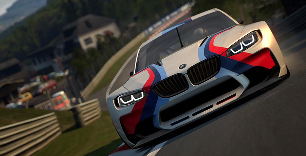 Découverte : BMW Vision Gran Turismo