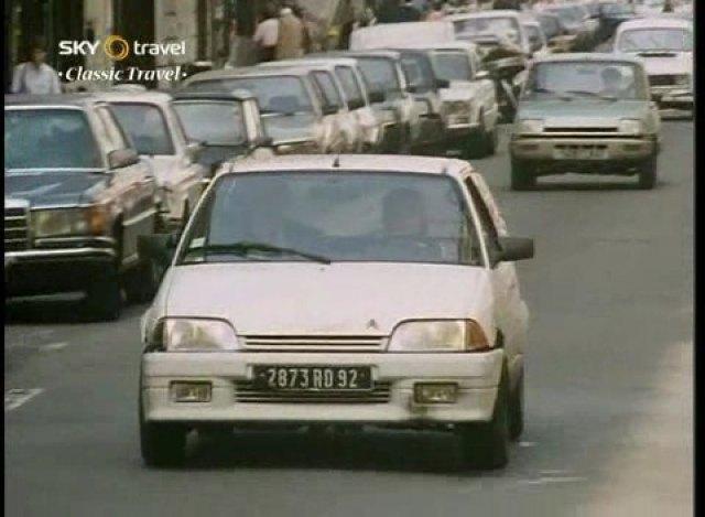la Citroën AX de Françoise Sagan