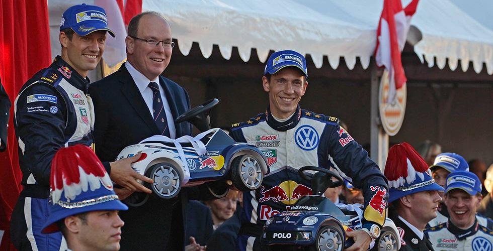Rallye Monte-Carlo : la cadeau de Volkswagen au Prince de Monaco