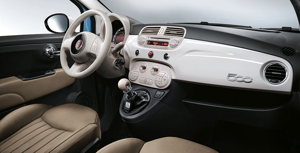 Fiat 500 vintage 57 interieur for Fiat 500 x interieur