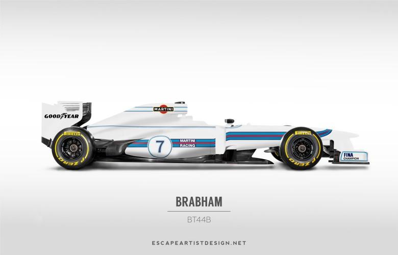 Nouvelles F1 Anciennes livrées_Brabham