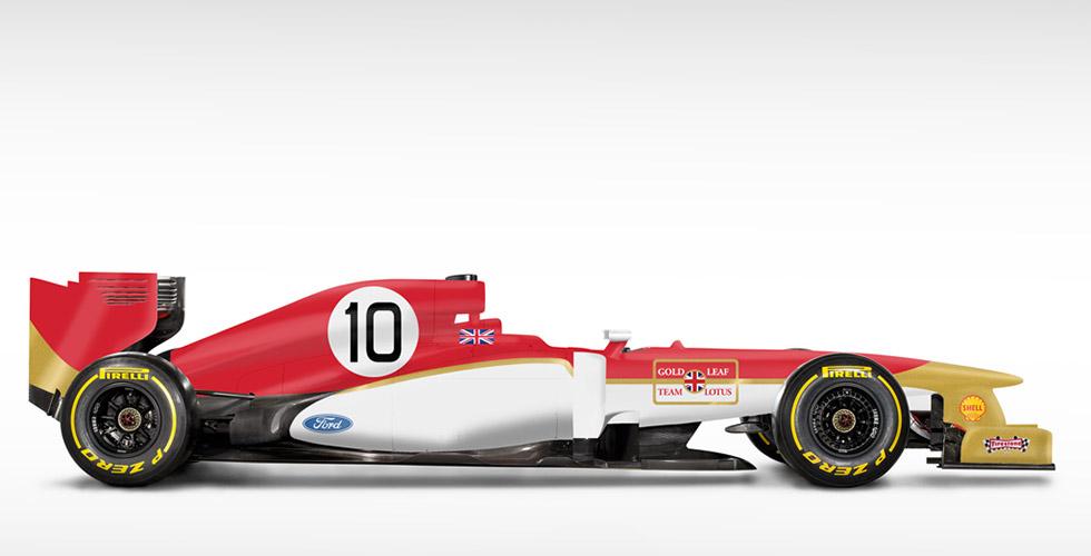 F1 modernes, livrées anciennes