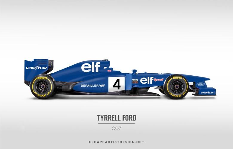 Nouvelles F1 Anciennes livrées_Tyrrell
