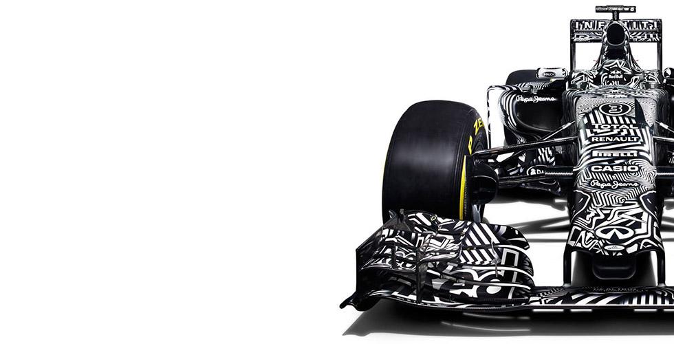 Red Bull RB11 Camo 2015 : la F1 zébrée