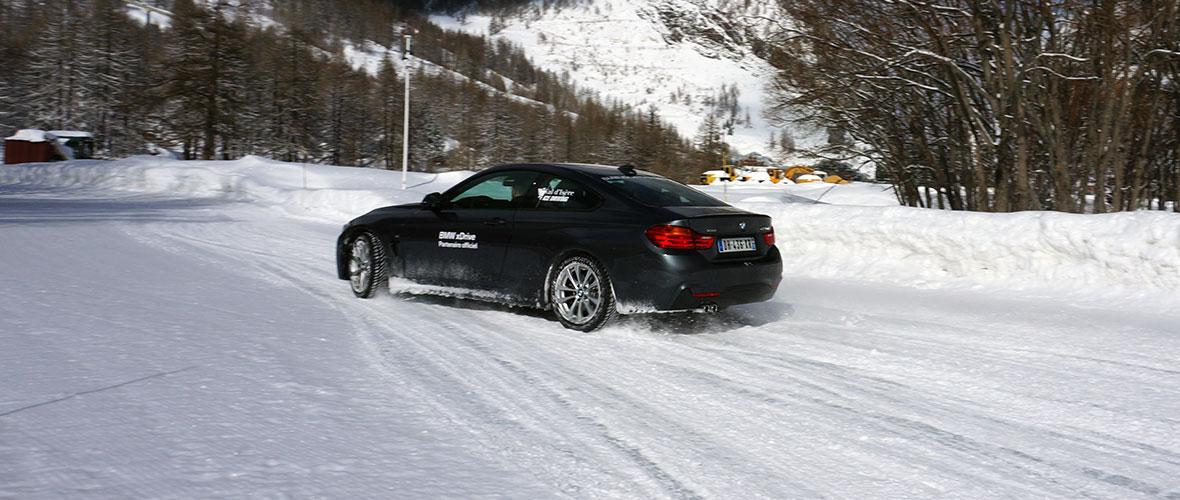 Comment rouler sur la neige et la glace ?