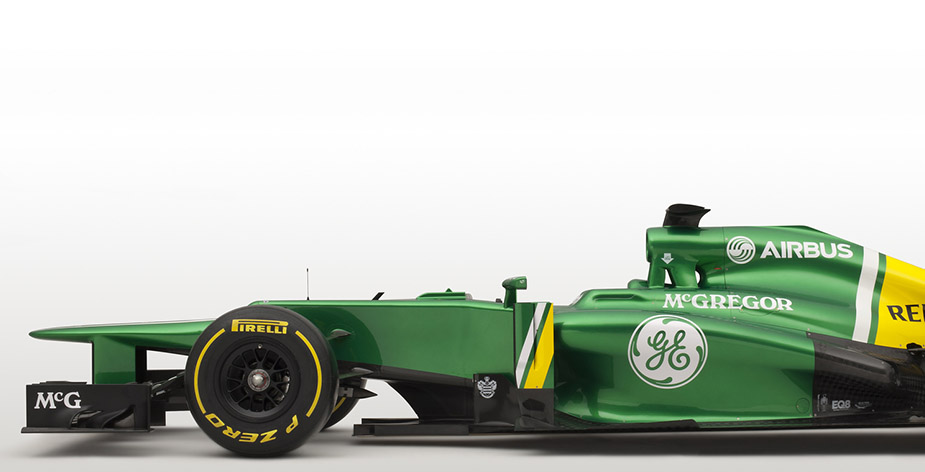 Au revoir Caterham F1 Team