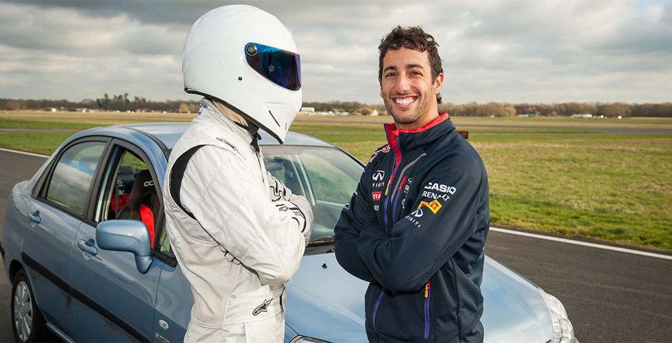 Le record Top Gear pour Daniel Ricciardo !