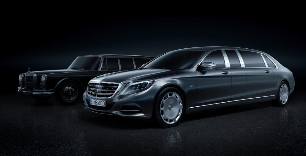 Mercedes-Maybach Pullman et 600 Pullman