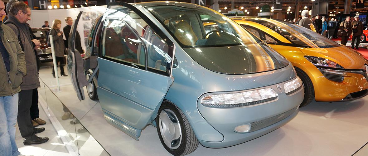Rétromobile 2015 : Renault Scénic Concept