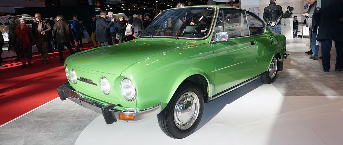 Rétromobile 2015 : Skoda 110 R Coupé