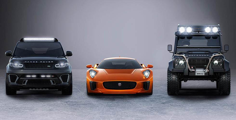 Spectre : Aston Martin DB10 contre Jaguar C-X75
