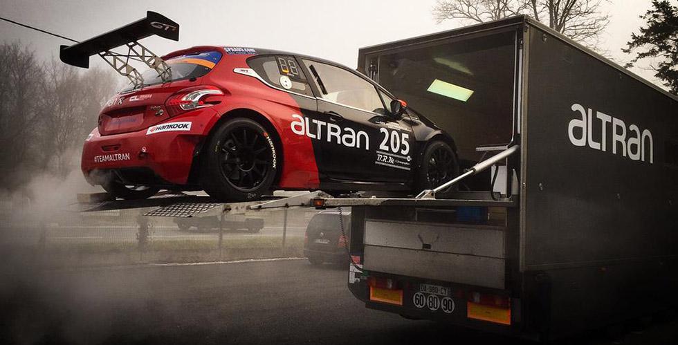 Peugeot en endurance avec le Team Altran